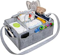 EDEN Baby Diaper Caddy Organizer for Boys & Girls (Extra Large) Infant, Newborn Nursery Organizer, Travel Tote | Store Clothes, Accessories, Pee-Pee Teepees | Toy Basket & Art Supply Storage