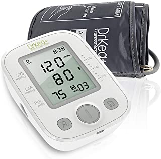 Clinical Automatic Blood Pressure Monitor Upper Arm - Large Display Blood Pressure Monitors - Digital Blood Pressure Machine - BP Monitor - 9