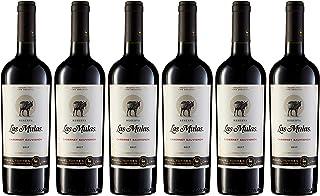 Las Mulas Cabernet Sauvignon, Vino Tinto - 6 botellas de 75