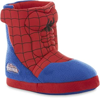 Marvel Boys' Spider-Man Bootie Slippers