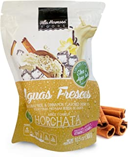 Villa Hermosa, Natural Horchata Flavored Drink Mix with Stevia and agave Inulin, 10.5 oz