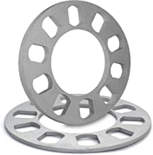 5mm Thickness Wheel Spacers for 5 x 100mm, 5 x 105mm, 5 x 108mm (5 x 4.25), 5 x 110mm, 5 x 112mm, 5 x 114.30mm (5 x 4.50), 5 x 115mm, 5 x 120.65mm (5 x 4.75), 5 x 120mm