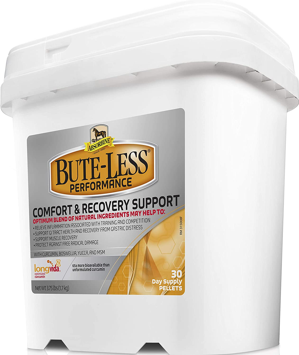 Absorbine Bute Less Performance Pellet 3 75lb