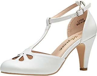 Best white mary jane pumps Reviews