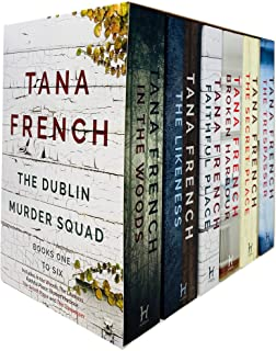 Dublin Murder Squad Series 6 Books Collection Set by Tana French (In The Woods, The Likeness, Faithful Place, Broken Harbo...