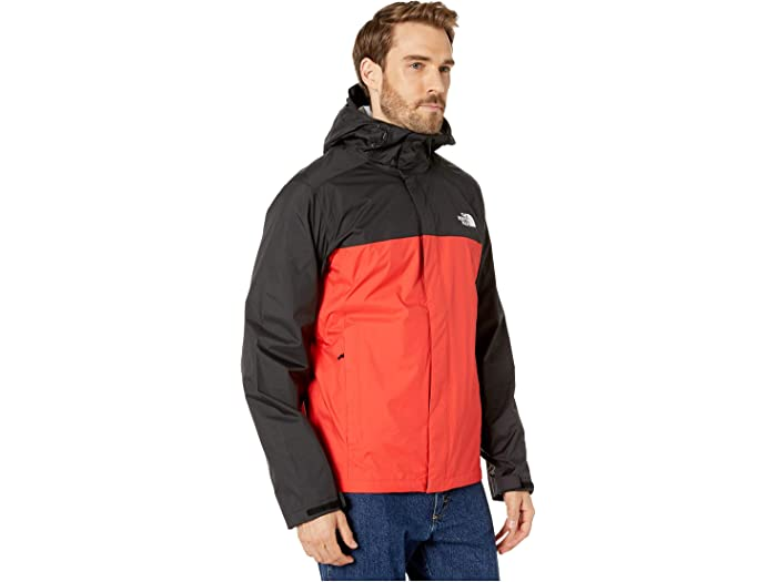 The North Face Venture 2 Jacket Fiery Red/tnf Black Cos & Outerwear