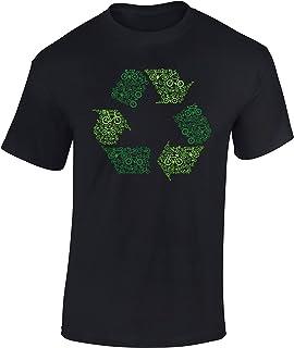 Camiseta de Bicileta: Bicis y Reciclaje - Regalo Ciclistas
