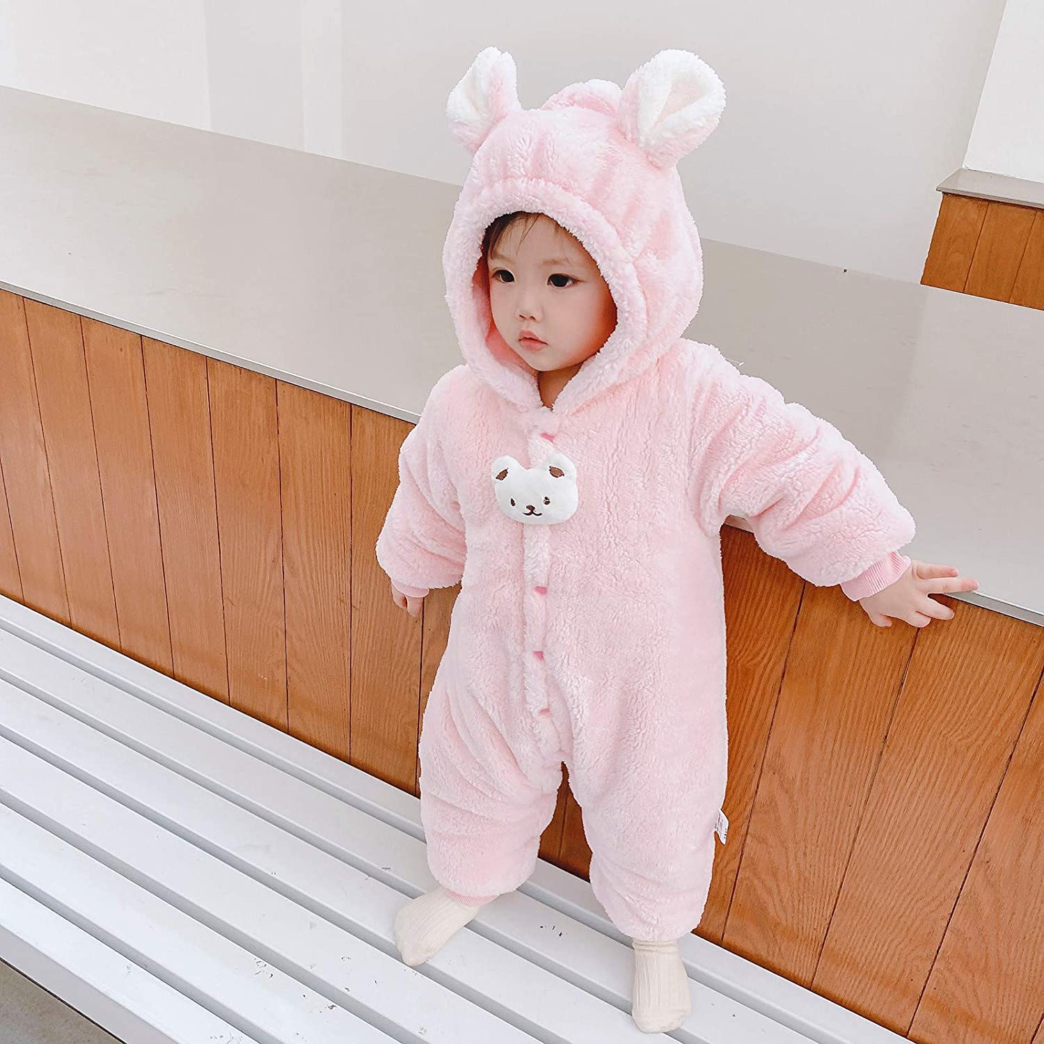Weilov 1-12Y Big Kids Girls Long-Sleeved Striped Printed Hooded Sweater Top Skirt Pullover Sweater Various Patterns Cute Patterns Colorful