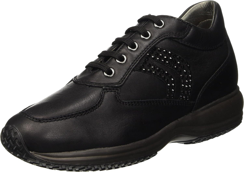Geox Women's D Happy C Hi-Top Sneakers
