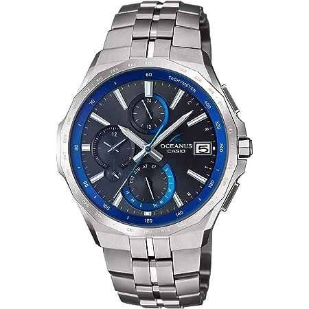 [カシオ] 腕時計 オシアナス Manta Bluetooth 搭載 電波ソーラー OCW-S5000-1AJF メンズ シルバー