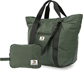 Arxus Foldable Travel Tote Duffel Bag Carry-on Lightweight Weekender Bag Shoulder Handbag with Trolley Sleeve