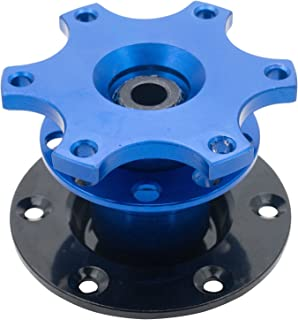 MASO Universal Quick Release Snap Off Steering Wheel Boss Hub Race/Rally/Motorsport (Blue)