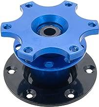 MASO Universal Quick Release Snap Off Steering Wheel Boss Hub Race/Rally/Motorsport (Blue)