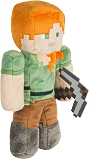 JINX Minecraft Alex Plush Stuffed Toy, Multi-Colored, 12
