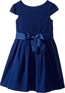 Polo Ralph Lauren Kids - Corduroy Fit-and-Flare Dress (Toddler)