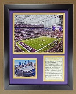 Legends Never Die NFL 明尼苏达维京人队美国银行体育场双哑光相框,30.48 cm x 38.10 cm