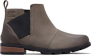 Sorel Womens Emelie Chelsea Closed Toe Ankle Fashion Boots
