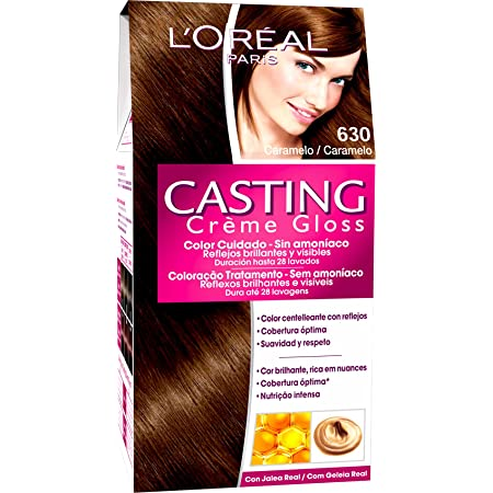 LOreal Paris Casting Creme Gloss Baño de Color 630 Caramelo ...