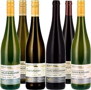 Weingut Mees PROBIERPAKET BURGUNDER TROCKEN Weißburgunder Grauburgunder Spätburgunder Wein Deutschland Nahe Paket 6 x 750 ml