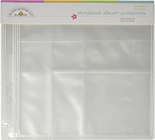 Doodlebug Design Protector Assortment for Scrapbooking, 8 by 8-Inch