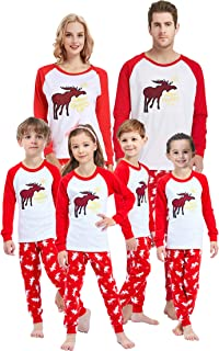 Matching Family Pajamas for Women Men Christmas Boys and Girls Red Striped Jammies Baby Clothes