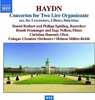ハイドン:2台のリラ・オルガニザータのための協奏曲集