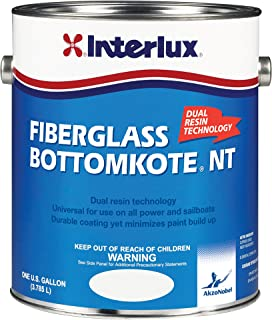 Interlux YBB349/1 Fiberglass Bottomkote NT Antifouling Paint (Red), 128. Fluid_Ounces