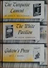 The Turquoise Lament, The White Pavilion, Gideon's Press (Detective Book Club)