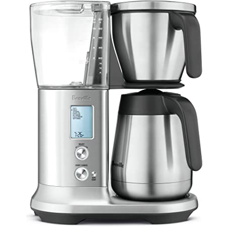 "Breville Precision Brewer Thermal Coffee Maker, Brushed Stainless Steel, 13.5"" x 9"" x 16"""