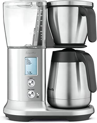 """Breville Precision Brewer Thermal Coffee Maker, Brushed Stainless Steel, 13.5"""" x 9"""" x 16"""""""