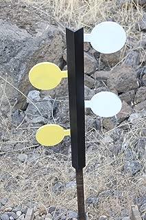 Deschutes Metal Works Pistol/Handgun Dueling Tree AR500 Steel Four Paddle Target Set