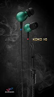 Audiopark KOKO Emerald Green Wearable Braided Wristband In-ear Headphone