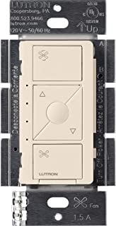 Lutron Caseta Smart Home Ceiling Fan Speed Control Switch, Works with Alexa, Apple HomeKit, and the Google Assistant | PD-...