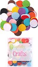 Playfully Ever After 1 Inch Mixed Color Assortment 200pc Felt Circles