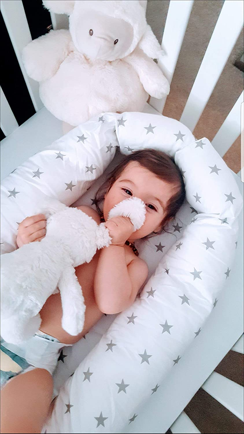 Daily bargain Max 50% OFF sale Baby nest with removable cover c portable bed size toddler