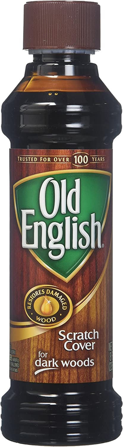 Old English Scratch Cover for Dark Woods Polish 8 oz (Pack of 4)