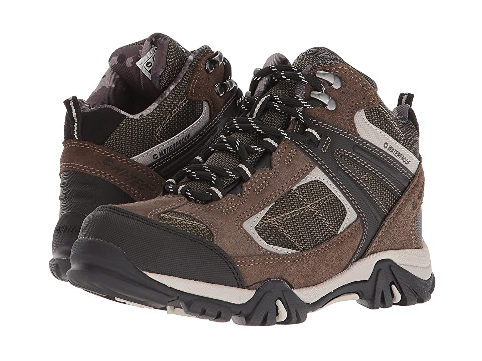 Hi-Tec Kids Altitude Lite II WP (Toddler/Little Kid/Big Kid) (Dark Taupe/Olive Night/Warm Grey) Boys Shoes