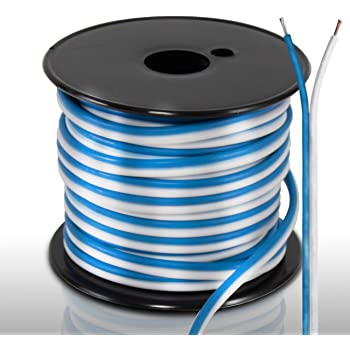 Amazon.com: 50ft 18 Gauge Speaker Wire - Waterproof Marine Grade Cable in  Spool for Connecting Audio Stereo to Amplifier, Surround Sound System, TV Home  Theater and Car Stereo - PLMRSW50: Car ElectronicsAmazon.com
