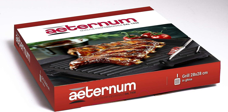 Aeternum Y00AGD0339 Grill en fonte 21 x 35 cm