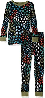 Boys' Big 2-Piece Tight Fit Thermal Sleeve Long Bottoms Pajama