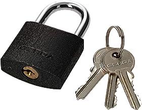 KOTARBAU® Gietijzeren hangslot, 40 mm, universeel slot, monoblock, hangslot met bouten, inbraakbeveiliging, beugelslot, ge...