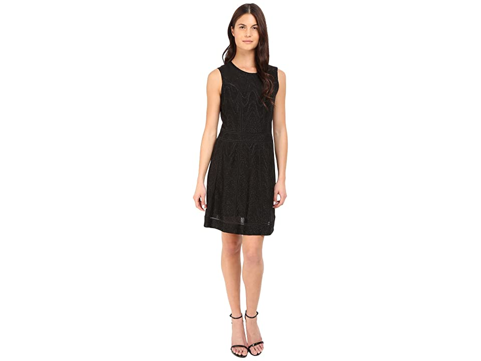 M Missoni Lurex Jersey Dress (Black) Women