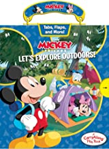 Disney Mickey Mouse: Let's Explore Outdoors (Carry Along Play Book)