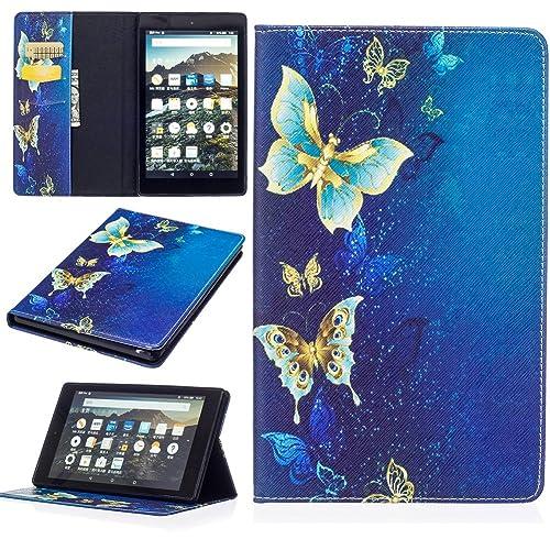 9120f472a79d KM-WEN® Tablet Case for Amazon Fire HD 8 (6th Gen 2016