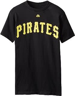 Majestic Pittsburgh Pirates Roberto Clemente Black T Shirt (XXL)