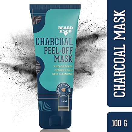 Beardhood Charcoal Peel-Off Mask, 100g