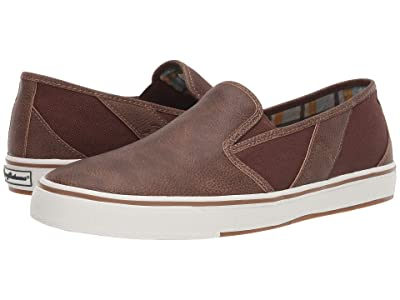 Tommy Bahama Pacific Palms (Brown Vegan Leather) Men