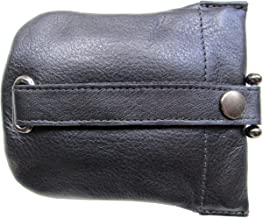 Josephine Osthoff Men's Leather Drop Key Case - black -