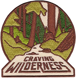 Asilda Store Embroidered Sew or Iron-on Patch (Craving Wilderness)