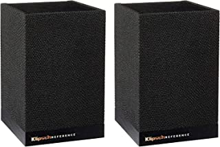 Klipsch Surround 3 Klipsch Surround 3 Speaker Pair with Adjustable Volume for a Full 5.1 Home Theater Experience with Comp...